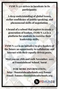 FSMUN Poster